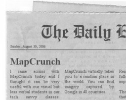 MapCrunch for the Class : A Journey in TEFL | TeachingEnglish | Scoop.it