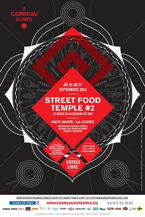 Street Food Temple : la Corée à l'honneur du nouvel événement du Carreau du Temple | Art & food | Scoop.it