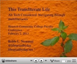 Librarian by Day » This Transliterate Life | Transliteracy- Literacy Transferred | Scoop.it
