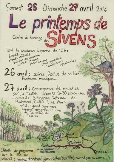 #ZAD du #Testet 26 et 27 avril 2014 : Printemps de Sivens | # Uzac chien  indigné | Scoop.it