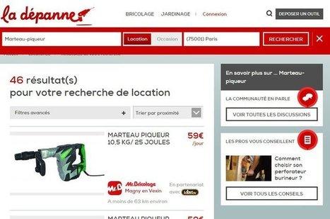 Monsieur Bricolage lance La dépanne, site de location et vente d'outils entre particuliers | Webmarketing et e-Commerce | Scoop.it