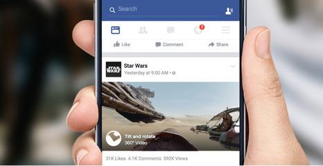 Facebook publie une scène du prochain Star Wars à 360 degrés | (E)-BUSINESS : carnet de route stratégique des marques et entreprises | Scoop.it
