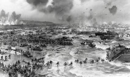 Secondary Source: D-Day Overview | Invasion Of Normandy (D-Day) | Scoop.it