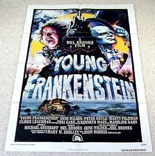 Movie Poster One Sheet Young Frankenstein 1974 | New & Vintage Collectibles | Scoop.it