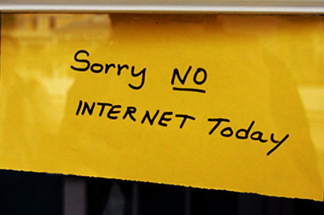 7 Productive Things You Can Do When There's No Internet Access | Small Business Tips | Scoop.it
