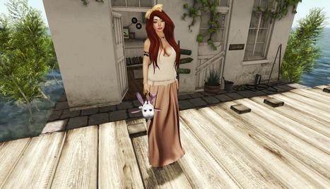 ParisTsao's Fashion Blog: Long skirt in summer | Finding SL Freebies | Scoop.it