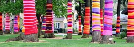 Yarn Bombing- The Art of Knitting to Decorate The Urban Scene | Art and Design | Scoop.it