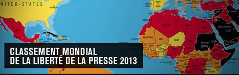 Liberté de la presse : le classement mondial 2013 de Reporters sans frontières | Égypt-actus | Scoop.it