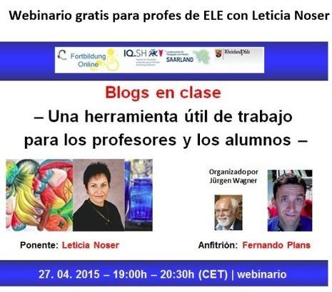 Profesores de español como lengua extranjera - Webinario | Las TIC en el aula de ELE | Scoop.it