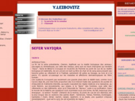 Y.LEIBOVITZ - PARACHA | Pendant ce temps... | Scoop.it