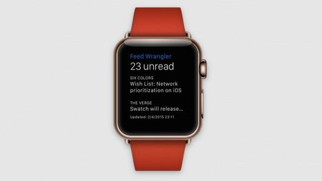 FeedWrangler : un lecteur RSS pour la future Apple Watch   RSS Circus : veille stratégique, intelligence économique, curation, publication, Web 2.0   Scoop.it