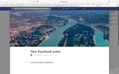 "Facebook ""Notes"" Revamp Set to Battle Medium and Twitter 