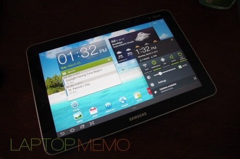 Samsung Galaxy Tab 10.1 T-Mobile HSPA+ Review | Thedroidguy | Scoop.it