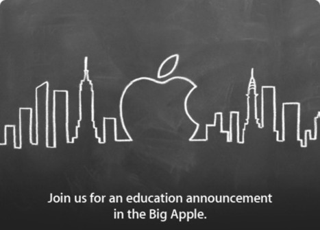 Confirmed: Apple's January 19th Event in New York will be about Education | The digital tipping point | Scoop.it