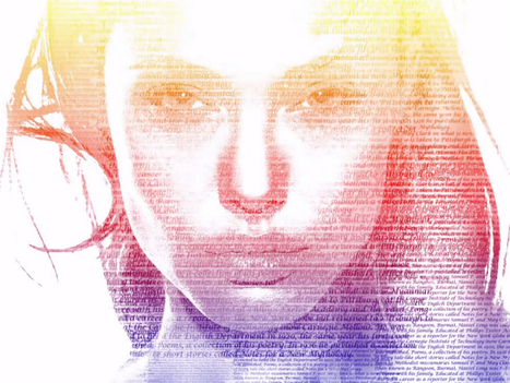 Typographic Portrait in Photoshop | Web & Graphic Design - Inspirational resources and tips!!! | Scoop.it