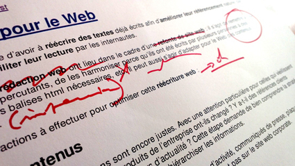 Réécrire un texte pour le web | Usability and UX | Scoop.it
