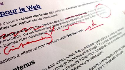 Réécrire un texte pour le web | Ergonomie IHM, Interaction design, UX | Scoop.it