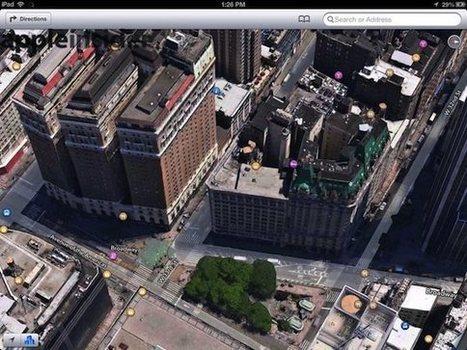 Los nuevos mapas 3D de Google Maps destrozan Manhattan | #GoogleMaps | Scoop.it