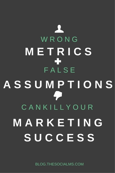 False Assumptions and Wrong Metrics Kill Your Marketing Success | World of #SEO, #SMM, #ContentMarketing, #DigitalMarketing | Scoop.it