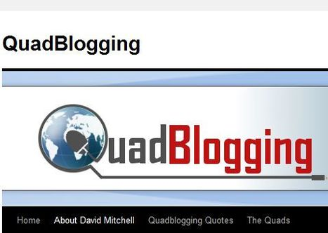 QuadBlogging- The Official Site | #Quadblogging and #passtheblog | Scoop.it