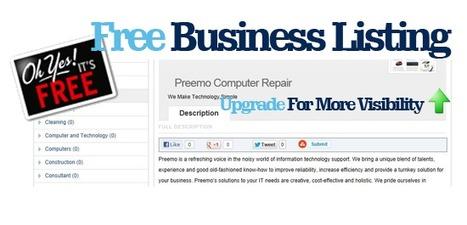 Free business listings | amlooking4.com | amlooking4 | Scoop.it