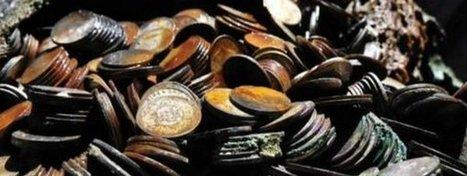 Recuperadas del Atlántico cien toneladas de monedas de plata de la Segunda Guerra Mundial | ArqueoNet | Scoop.it