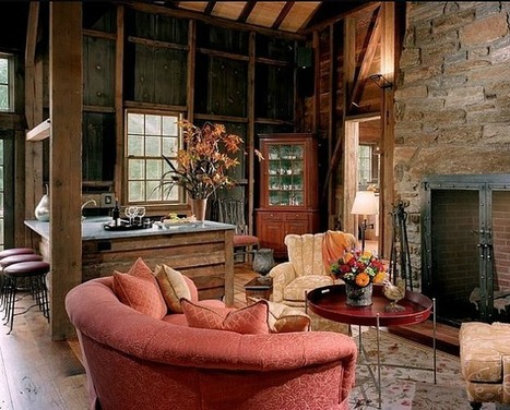 A 19th-Century Barn Becomes a Guest House in Gladwyne | American Barns | Scoop.it