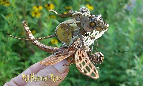 Elle crée d'étonnantes sculptures avec des mécanismes d'horlogerie | Mr Mondialisation | Ca m'interpelle... | Scoop.it