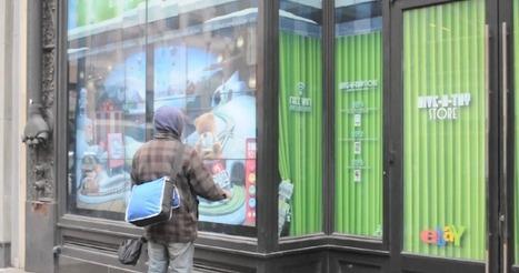 eBay propose une vitrine interactive de shopping dédiée à la bonne cause   E-commerce, M-commerce : digital revolution   Scoop.it