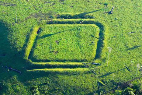 El enigma de las formas geométricas del Amazonas | ArqueoNet | Scoop.it