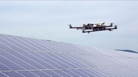 Drones for Solar PV Operations and Maintenance | Unmanned Aerial Vehicles (UAV) | Scoop.it