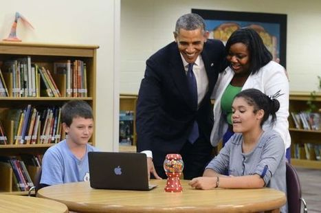Obama touts turning nation's classrooms into digital learning centers - Winston-Salem Journal | ed tech.computer class.writing ctr.ICT skills | Scoop.it