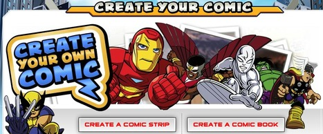 Create Your Own Comic | Marvel Super Hero Squad | The Official Web Site | Publishing and Presenting Ideas | Scoop.it