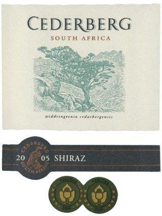2005 Cederberg South Africa Shiraz 750 mL   Review Best Wines Online   Scoop.it