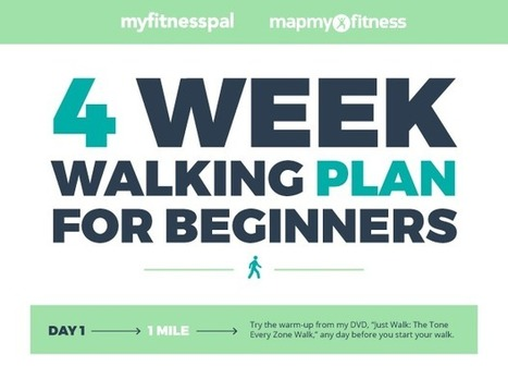 4-Week Walking Plan for Beginners   One Step at a Time   Scoop.it