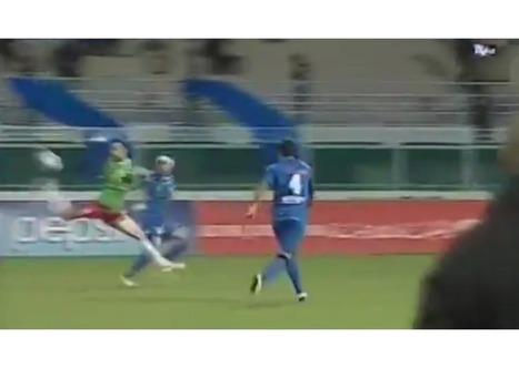 Soccer player scores incredible 40 yard backheel goal - SBNation.com | Sports | Scoop.it