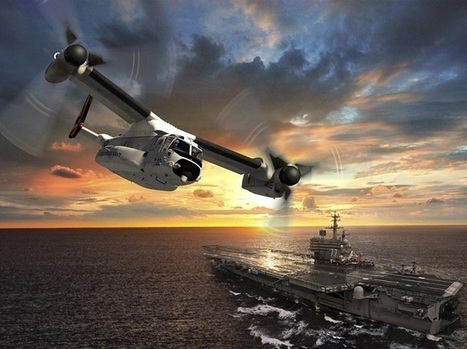 Bell-Boeing begins designing CMV-22B with $151 million contract | Helicopter News | Scoop.it