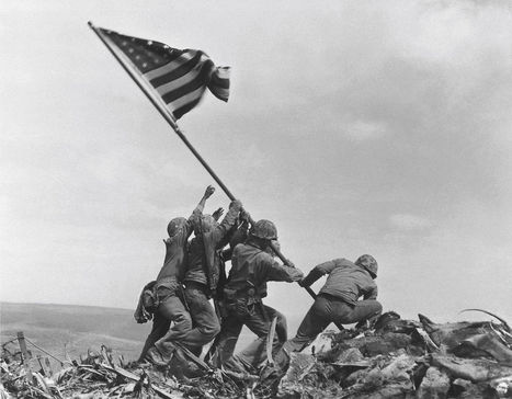 Hansen: Spurred by Omahan's research, Marine Corps changes history behind iconic Iwo Jima photo | World at War | Scoop.it