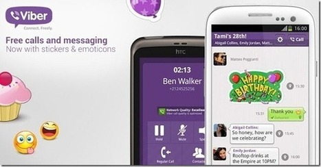 Make Free Calls via Android, iPhone And Windows Phone With Viber | โทรศัััััััััััััััพท์ | Scoop.it