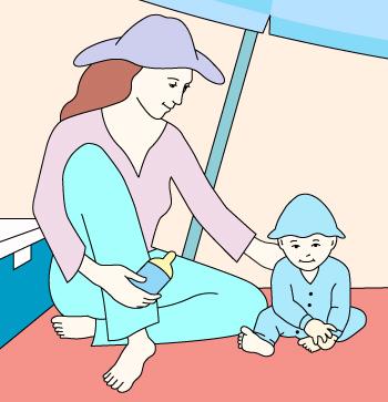 PROTECTORES SOLARES EN BEBES | Guías y Artículos en Pediatría | Scoop.it
