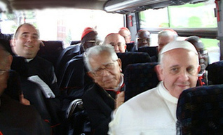 New Pope's humility 'getting on everyone's tits' admit cardinals   Religion Around the World   Scoop.it