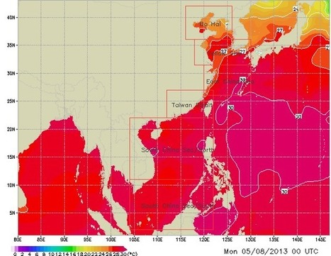 Ocean Heat Dome Steams Coastal China: Shanghai to Near Very Dangerous 35 Degree Celsius Wet Bulb Temperatures This Week | Chris' Regional Geography | Scoop.it
