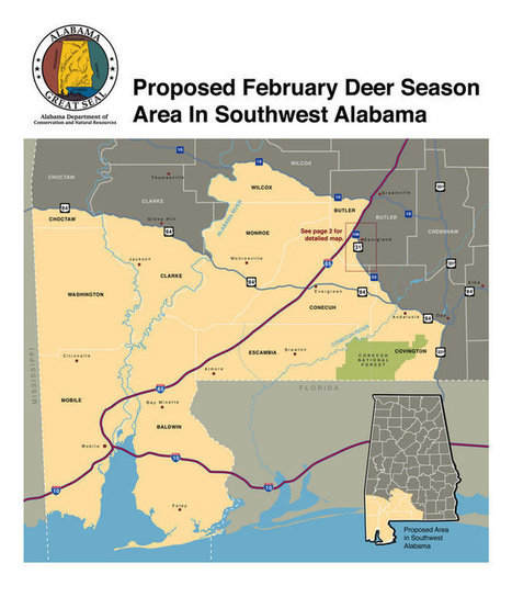 Alabama's southwest zone gun deer season enters 10-day closed period. NO HUNTING until 12-12-2013 | AP-HG | Scoop.it