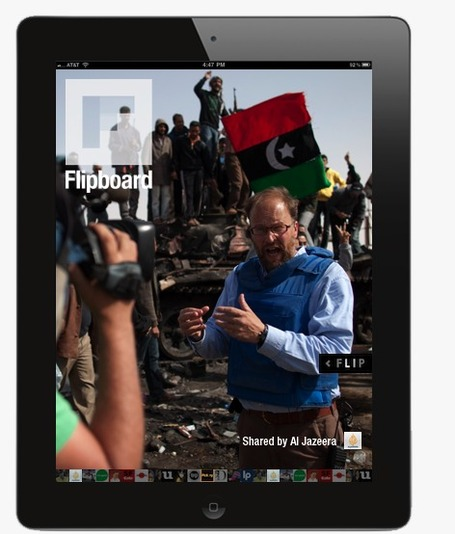 Al Jazeera English now on Flipboard for iPad | Cult of Mac | Learning to Teach with my Ipad | Scoop.it