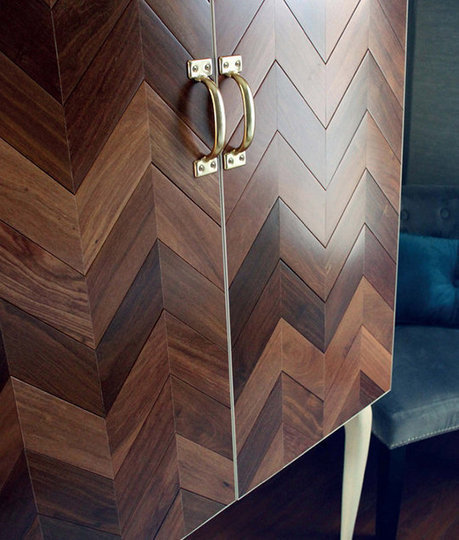 From Flooring to Furniture:  DIY Upcycled Herringbone Cabinet   ManMade | Mr Brown's Design and Technology | Scoop.it