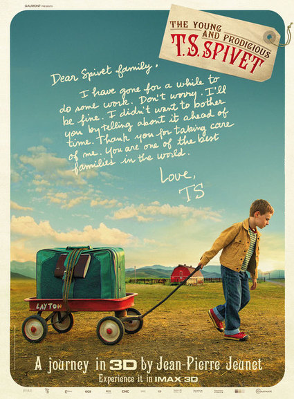The Young and Prodigious T.S. Spivet | GetTheMovies | Scoop.it