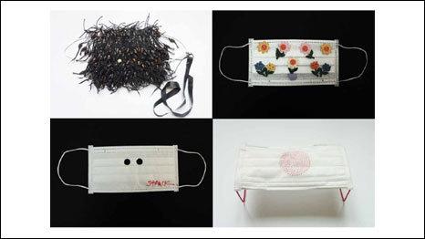 """""""100 masques pour le Japon"""" aux Arts Déco - Exposition et vente caritative   France 2   Méli-mélo de Melodie68   Scoop.it"""