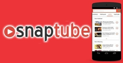 Descargar SnapTube | Promocion Online | Scoop.it