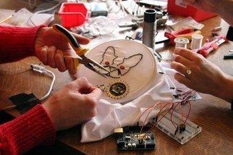 La couture électronique Des circuits dans une broderie ! - L'Union | Arduino, Processing | Scoop.it