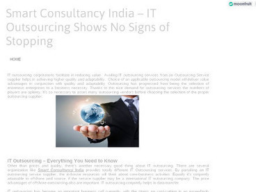 Smart Consultancy India – IT Outsourcing Shows No Signs of Stopping | ITconsultancyservices | Scoop.it
